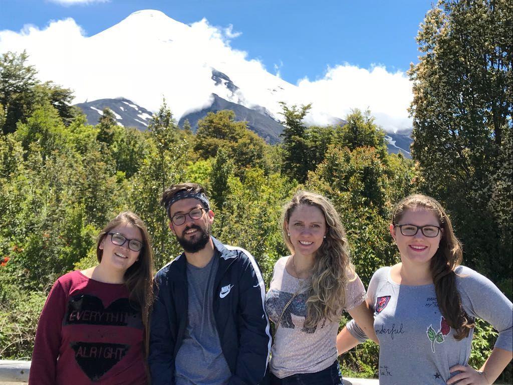 Acadêmicas da IENH realizam tour pelo sul do Chile na última semana de Intercâmbio