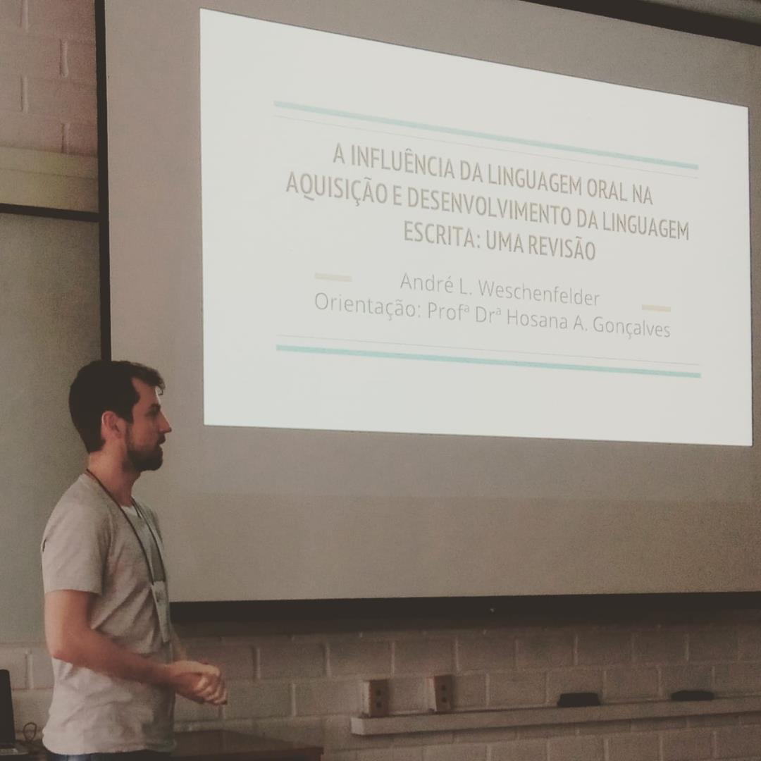 Acadêmico da Faculdade IENH apresenta trabalhos em Santa Catarina