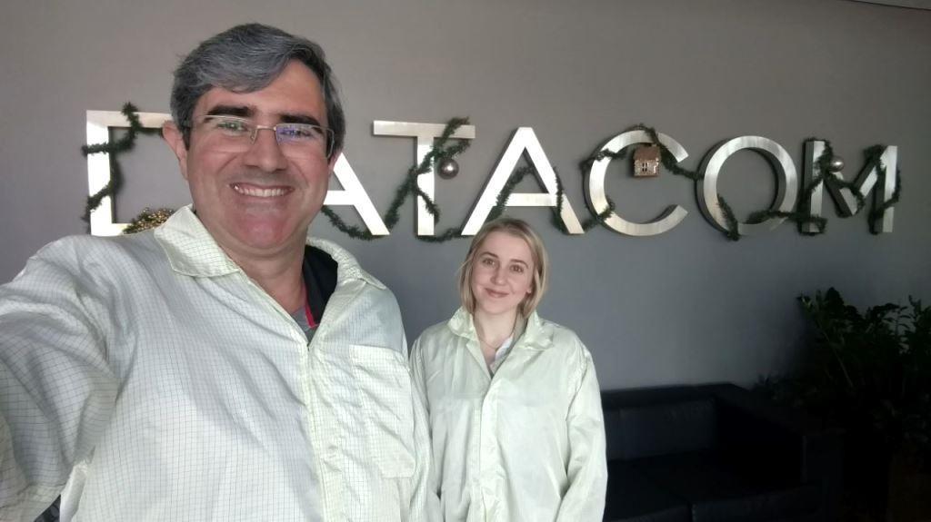 Acadêmicos realizam visitam técnica na empresa Datacom