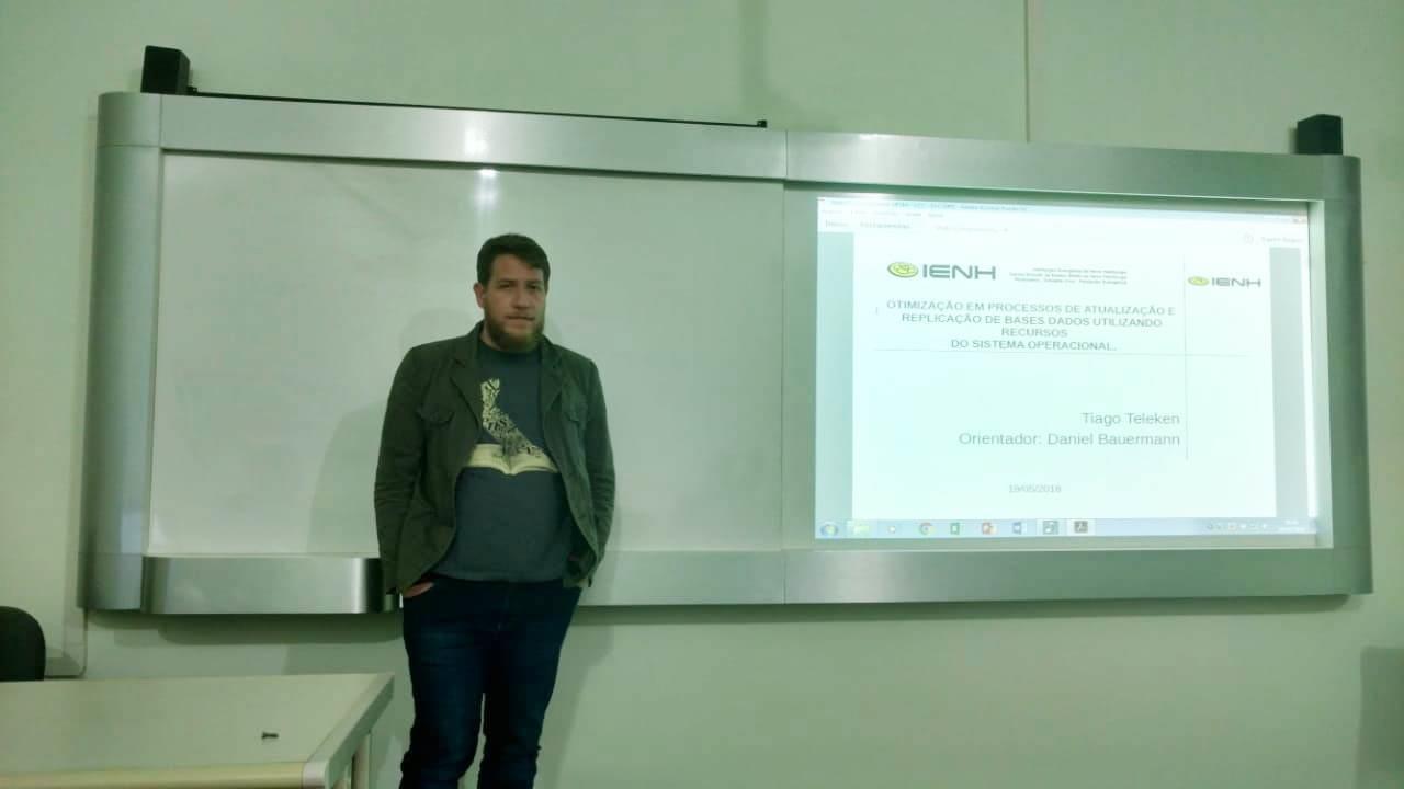 Bancas de qualificação dos TCCs do Curso de Redes de Computadores acontecem na Faculdade IENH
