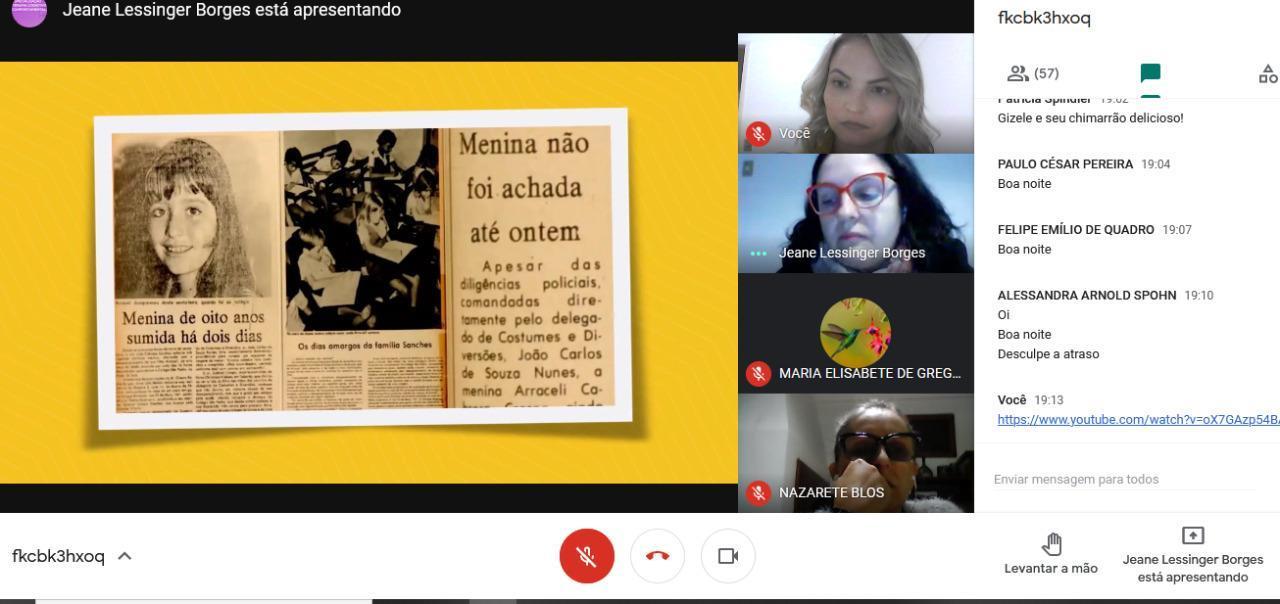Curso de Psicologia da Faculdade IENH promove roda de conversa virtual