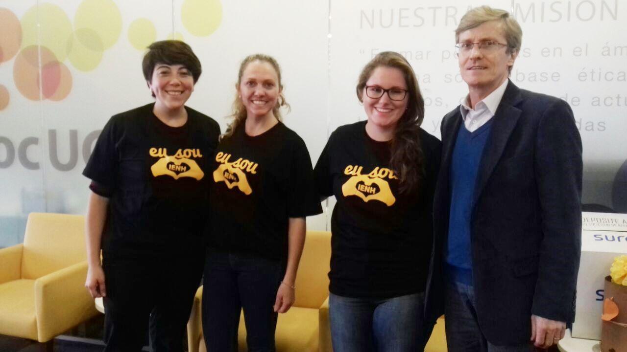Diretor da IENH participa de reunião com intercambistas no Chile