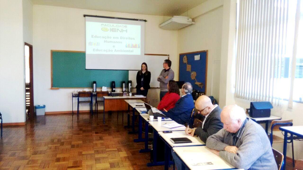 Faculdade IENH participa da reunião da Câmara de Ensino Superior da Rede Sinodal de Educação