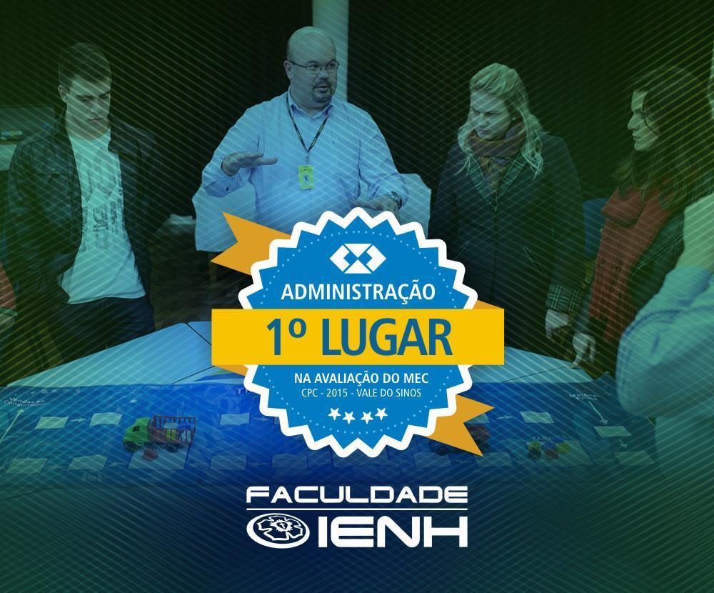 Faculdade IENH tem a melhor graduação de Administração do Vale do Rio dos Sinos