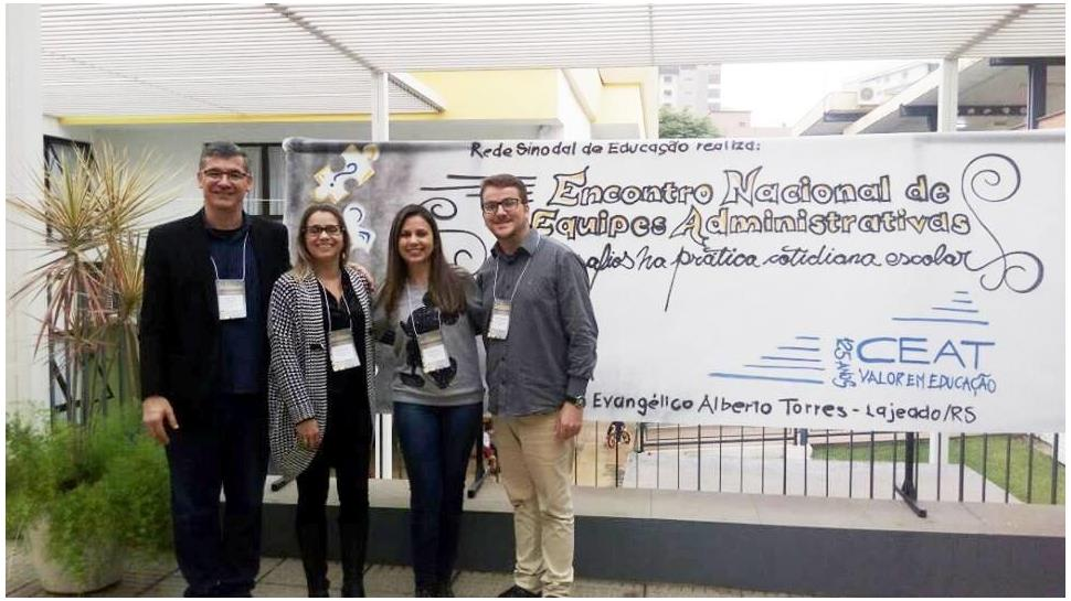 IENH participa do Encontro Nacional de Equipes Administrativas da Rede Sinodal