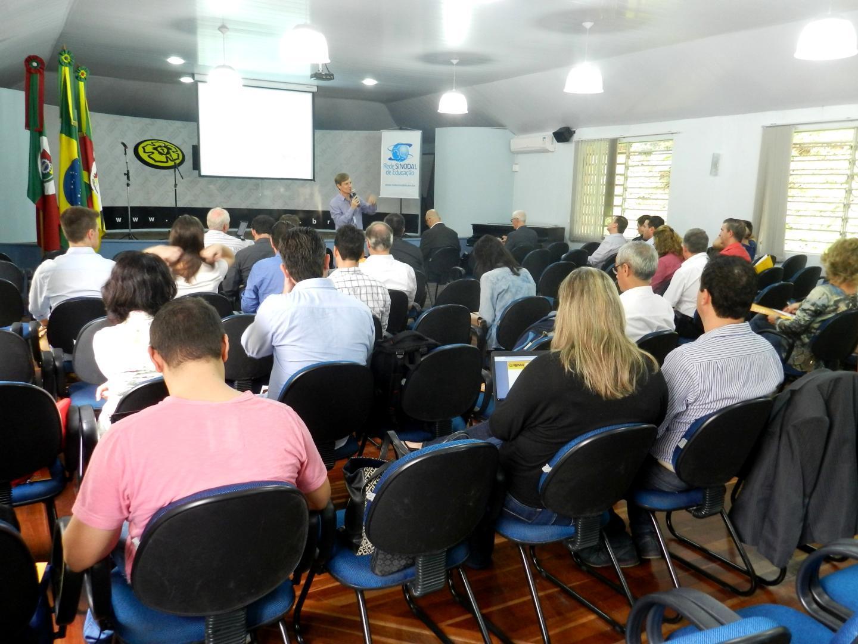 IENH sedia eventos do ensino técnico e superior da Rede Sinodal