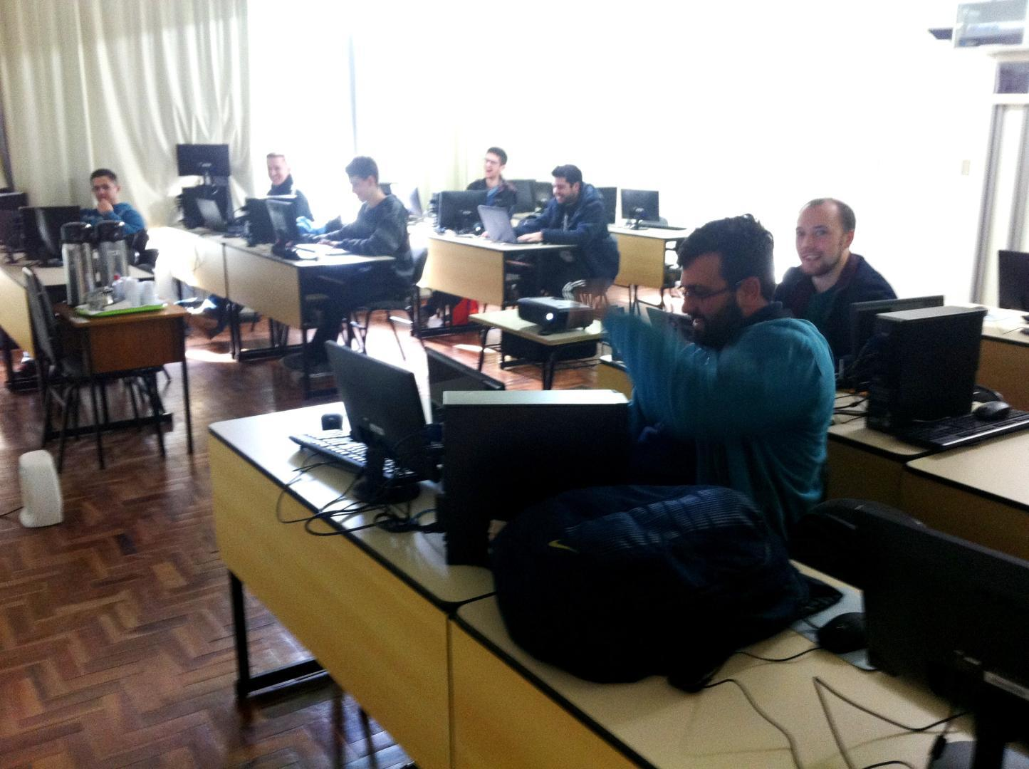 Iniciam as aulas do terceiro módulo do Curso de Extensão em Linux