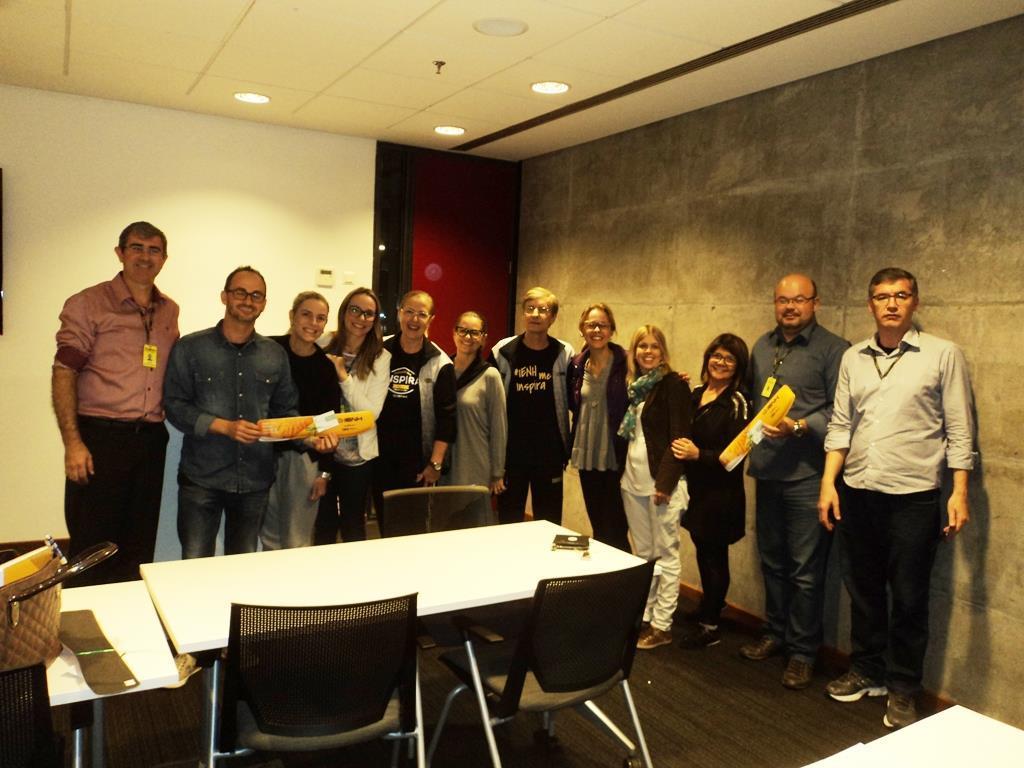 Lideranças da IENH reúnem-se na SAP para falar sobre transformação digital