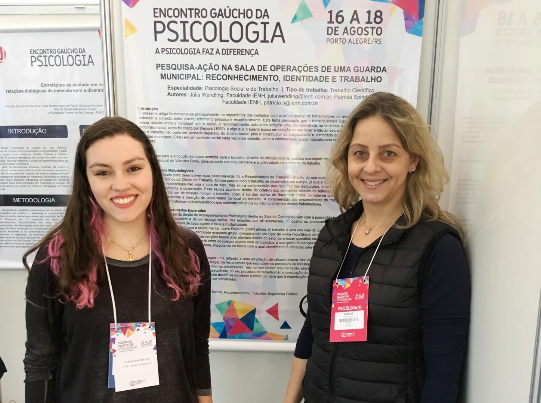 Pesquisa de acadêmica da Faculdade IENH é aprovado no Encontro Gaúcho de Psicologia