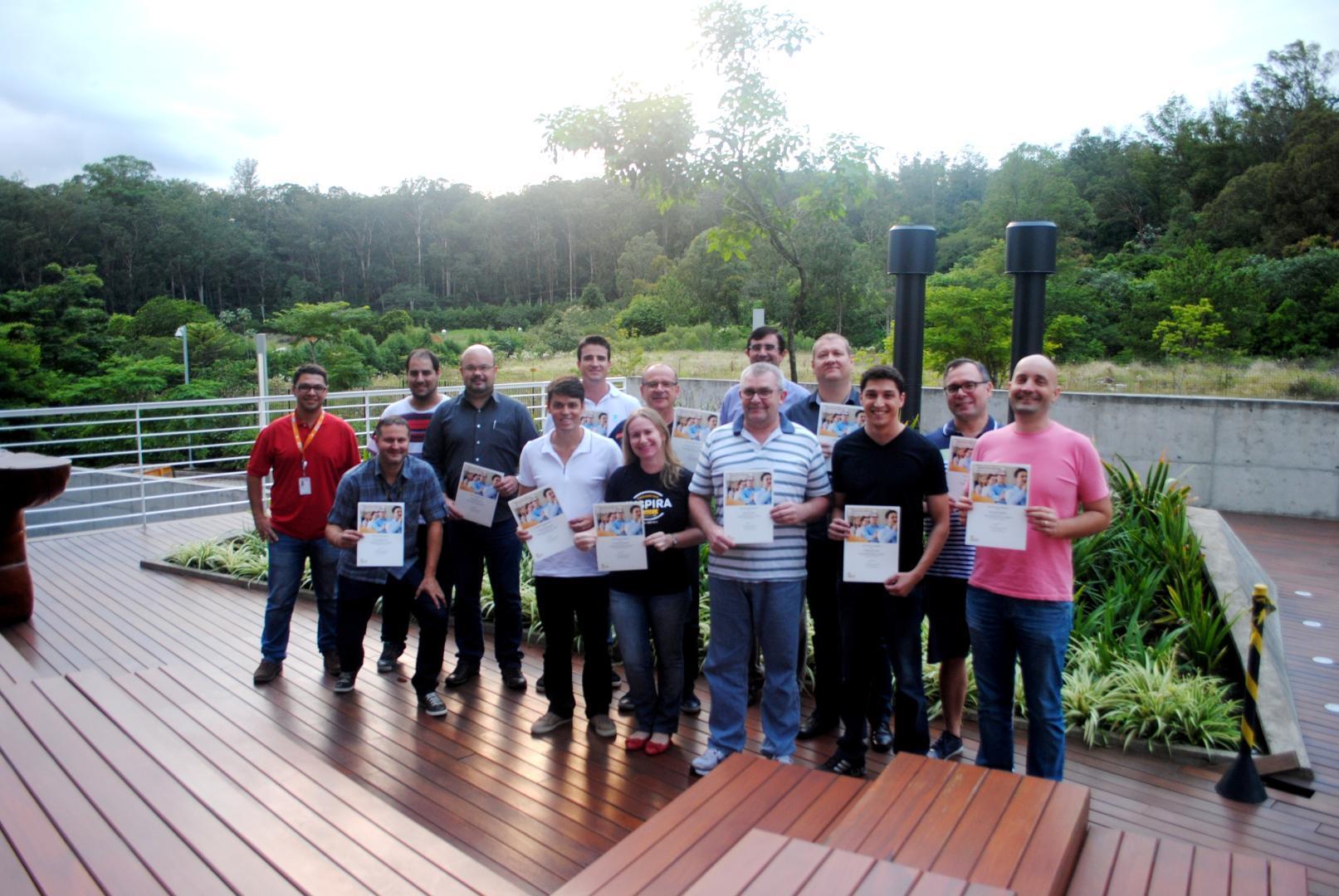 Professores da IENH participam de treinamentos na SAP Labs Latin America