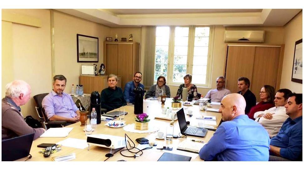 Representantes da IENH participam da reunião da Câmara do Ensino Superior da Rede Sinodal