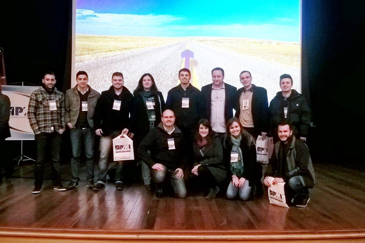 Turma de Gestão de Projetos participa do Seminário de Gerenciamento de Projetos da Serra Gaúcha