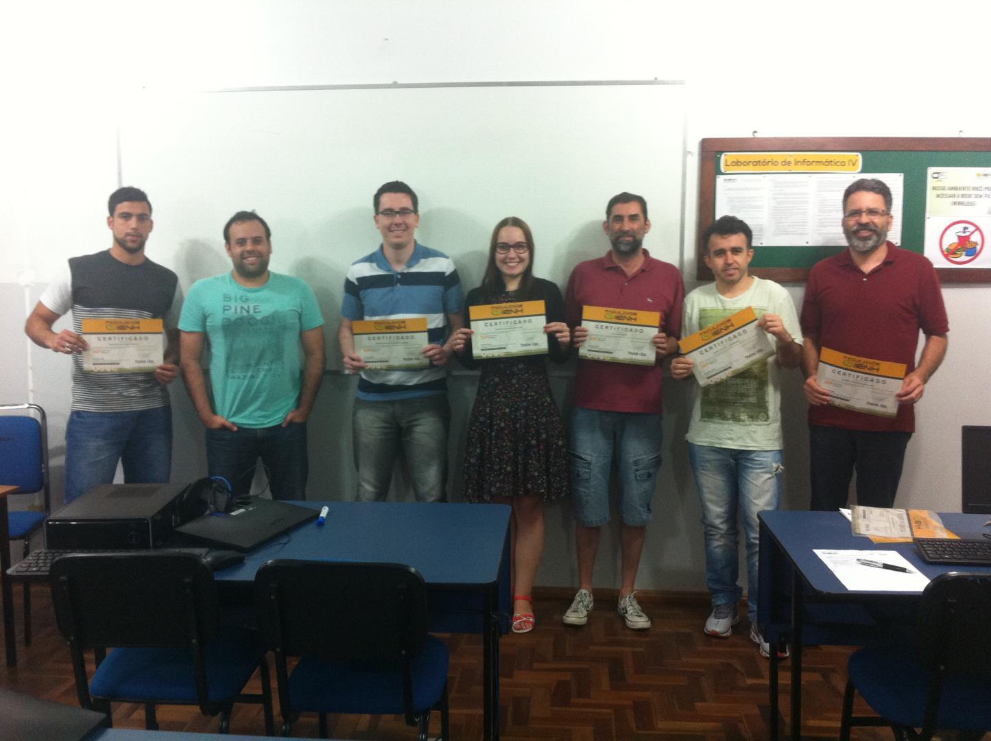 Última aula para alunos do Curso de Extensão em Desenvolvimento SAP ABAP
