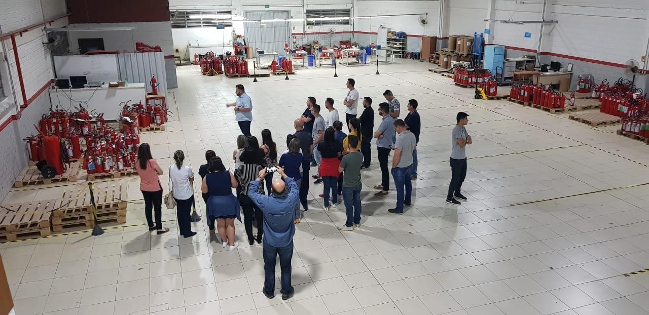 Visita Técnica na Panitz Extintores proporciona aprendizados sobre critérios competitivos