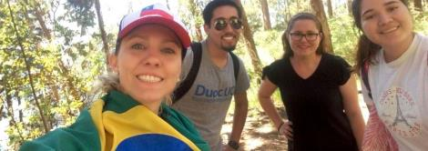 Acadêmicas da IENH realizam tour por lugares do Chile