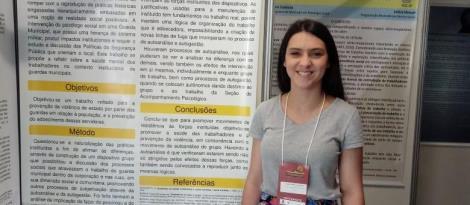 Aluna da Faculdade IENH participa do Encontro Nacional da Associação Brasileira de Psicologia Social