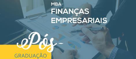 MBA em Finanças Empresariais é opção de curso na Faculdade IENH