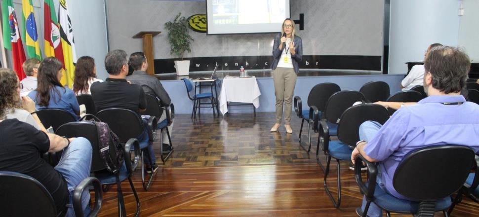 Momentos de capacitação no retorno dos Professores da IENH