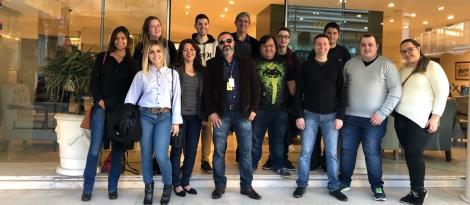 Oportunidades internacionais: alunos da IENH participam de Intercâmbio no Uruguai