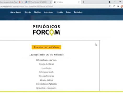 Plataforma de periódicos é lançada pelo Fórum das Faculdades Comunitárias