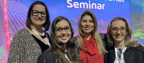 Professoras da IENH participam do Sphere International Seminar