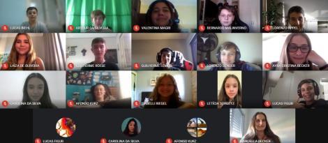Volta às Aulas IENH: reencontros entre professores e estudantes ocorre  de forma on-line