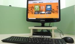 Novos computadores para o setor administrativo