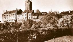 Wartburgo - Castelo onde Lutero ficou confinado durante 10 meses, depois de ter sido expatriado em 1521, na Dieta de Worms